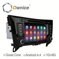 Newest quad core Android 4.4 up to android 5.1 car gps navigation for nissan qashqai/x-trial with FM