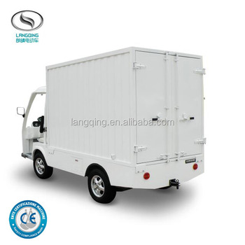 Hot Sale Mini Electric Pickup Truck 0.9 tons capacity Van LQF090M
