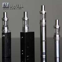 Uwell Crown Tank atomizer sub ohm resistance 0.25ohm/0.5ohm electronic cigarette clearomizer wholesale e cigarette distributors