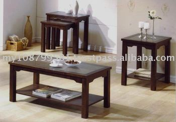 Pasadena Coffee Table / End Table / Nest of 2 Tables