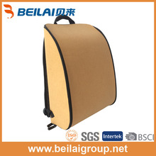China hotest washable kraft paper bag light recycle backpack fashion school bag
