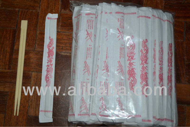 Disposable Twin Bamboo Chopsticks