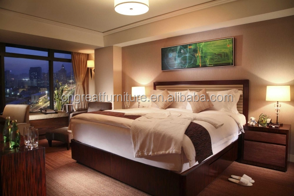 2017 New Hotel Bedroom Furniture New fashion wholesale modern hotel bedroom furniture