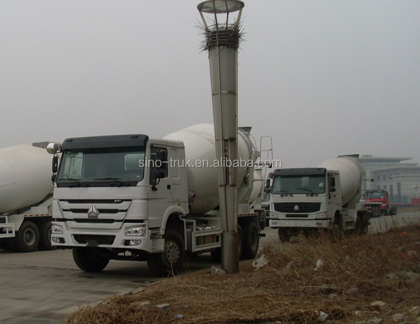 SINOTRUK Factory best price sale 8 cubic meters howo concrete mixer truck