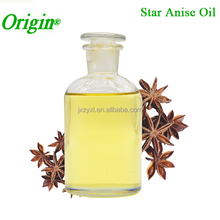 Plant Essential Oil, EU Certificated Steam Distillation Bulk Star Anise Oil Food Grade for Export from India