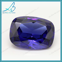 Manufacturer & Trading Company cushion cut glass loose faceted gemstones