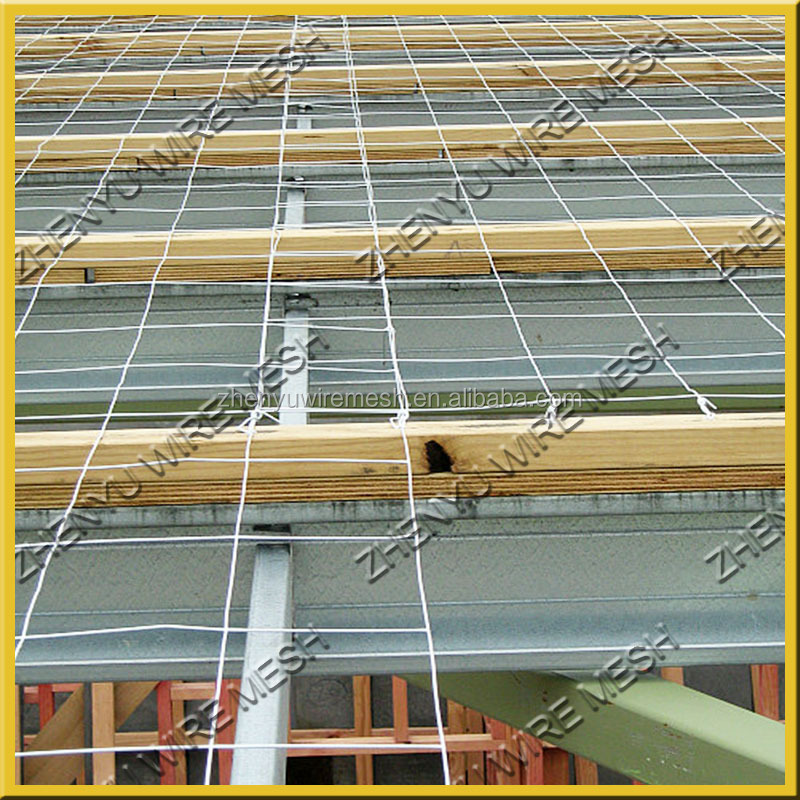 Hot Galvanized 3x3 Welded Roof Safe Mesh, BRC 3315 welded wire mesh for roofing safety
