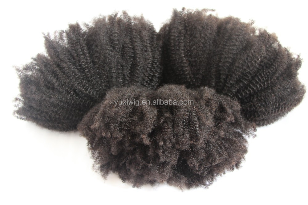 2016 Virgin Afro Coily Style 100g Kinky Curly Weft