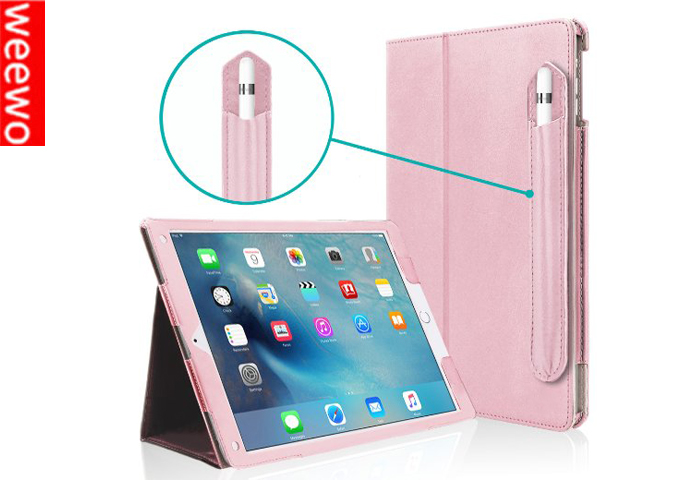 for Apple iPad 2 3 4 Generation Soft Leather Wallet Smart Cover with Sleep / Wake Feature Flip Case