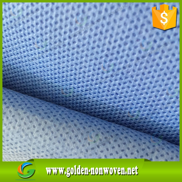 Surgical gowns/shoe cover raw materials Medical PP SMS Nonwoven Fabric