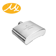 stainless steel whisky hip flask for bar