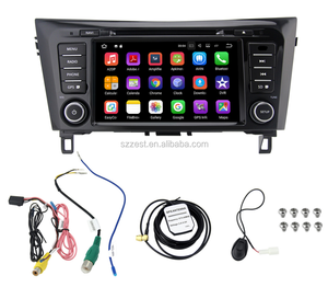 ZESTECH Android 8.0 touch screen auto radio gps car dvd 2din for Nissan X-Trail with 3g wifi navigation