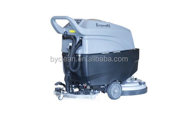 A508 Scrubber Cleaning Equipment Push-behind Floor Scrubber