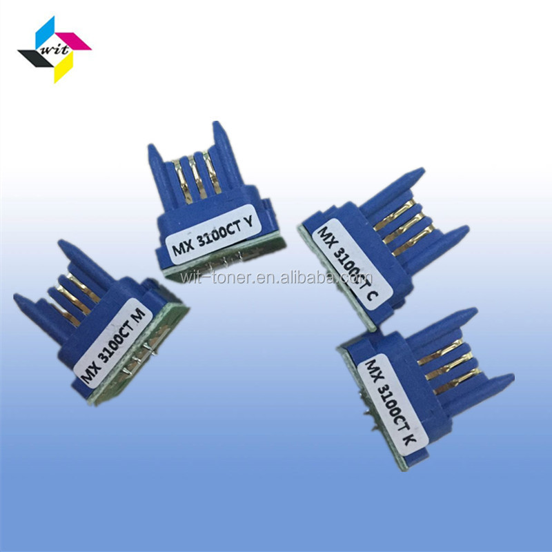 Compatible for MX31CT toner chip , MX-2600N/3100N/MX-2601N/3101N