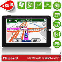 Wholesale Checkout 5 inch Pakistan map sat nav device model no. K50 with MSB 2531 CPU 800MHz 4GB Memory
