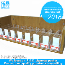 Gas Station Mobile Accessories Display Customize Plastic Cigarette Rack Pusher Wholesale