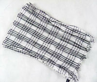 XH-1178 New 100% cotton Fashion mens plaid scarf
