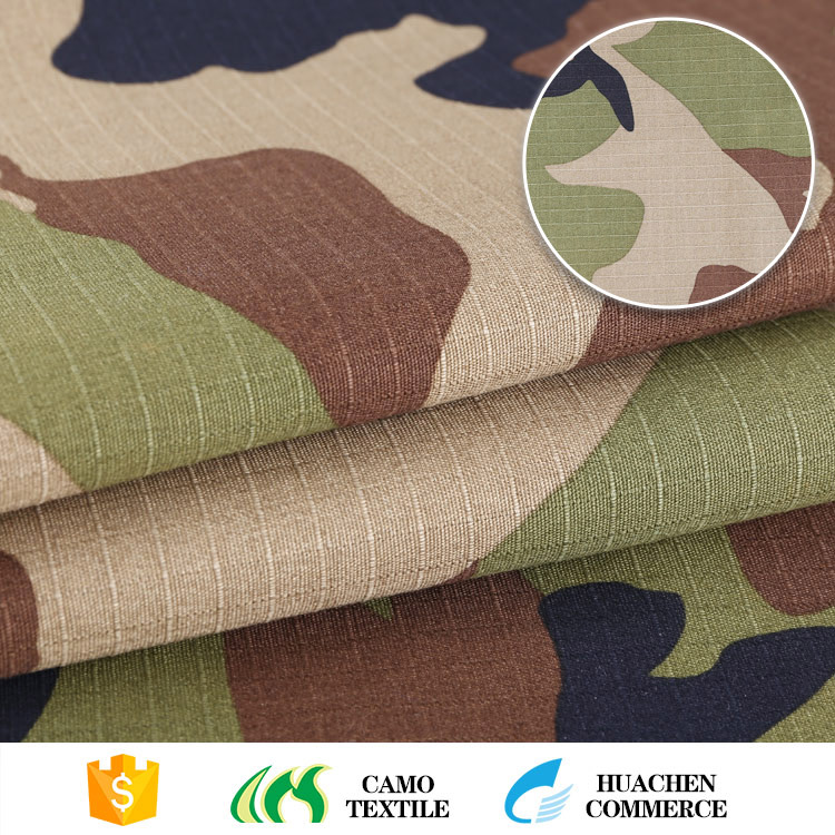 hot selling useful customized camouflage ripstop fabric canada