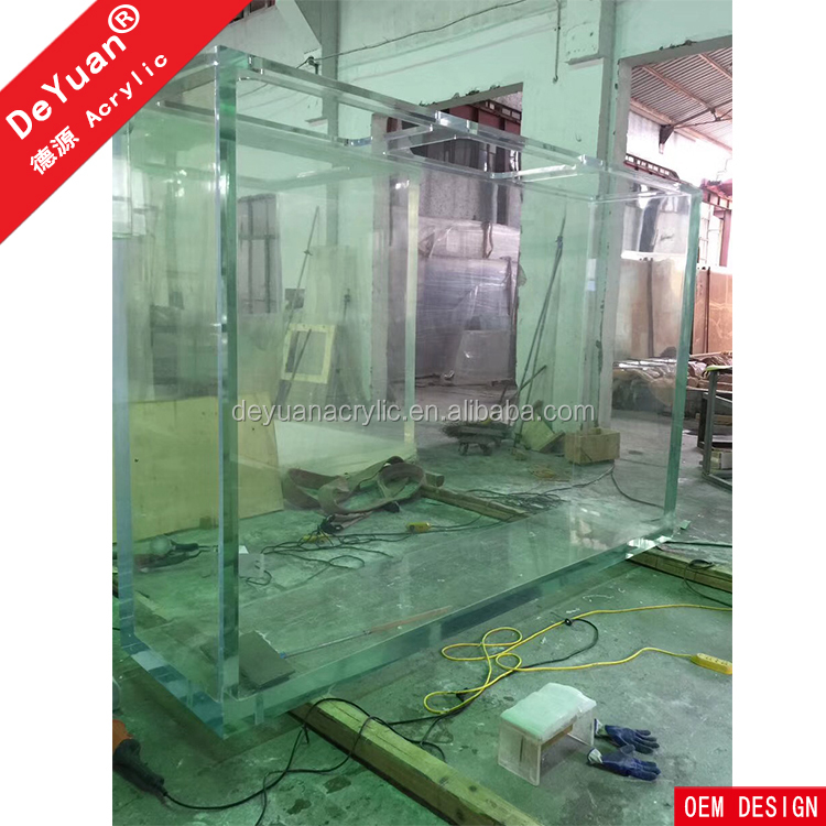 100% Virgin Acrylic Large Fish Tank Aquarium