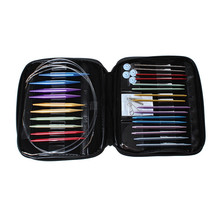 High Quality Aluminum Knitting Needles Interchangeable Set With Case