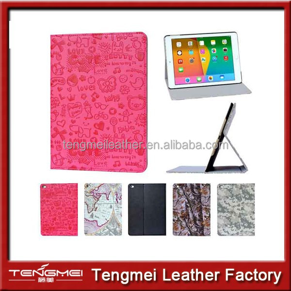 for iPad Air 2 Case Cover animal Pattern, Leather Case for iPad Air 2 Flip Cover