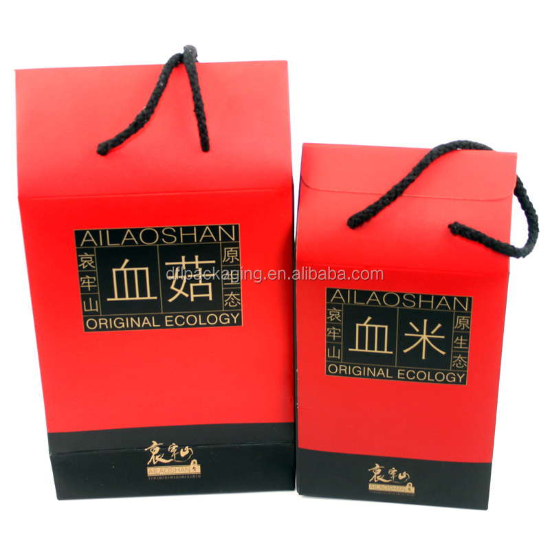 hang paper packaging box