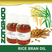 pale yellow rice bran oil in functional cosmetics