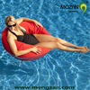 stock product discount price single water floating bean bag sofa