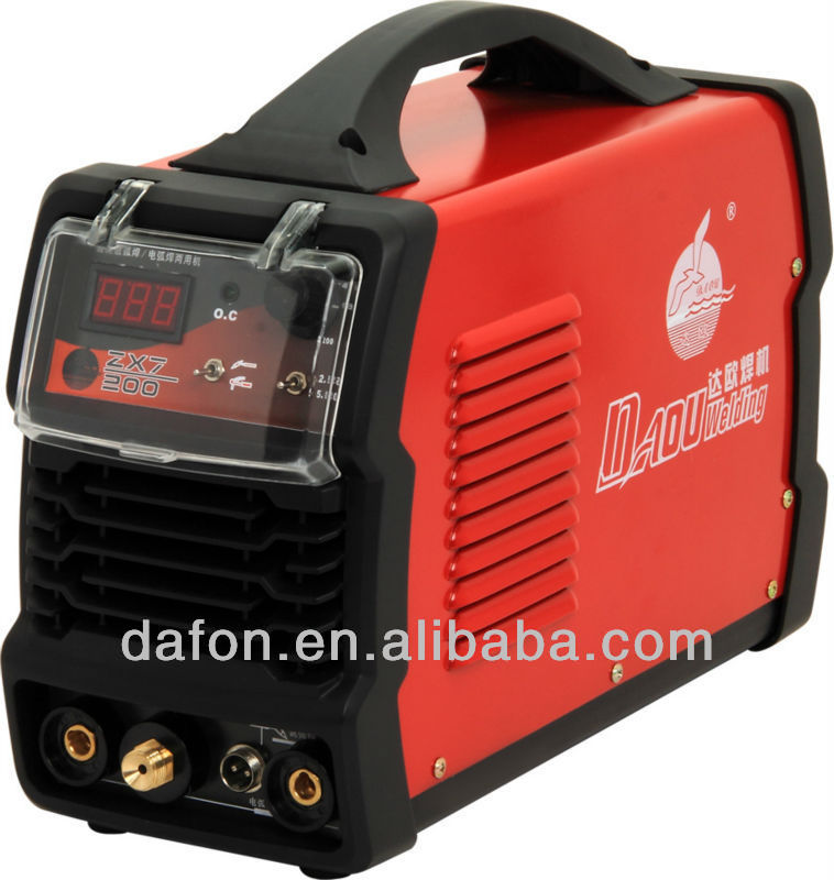 TIG/MMA AC/DC 200A welding machine MOSFET type