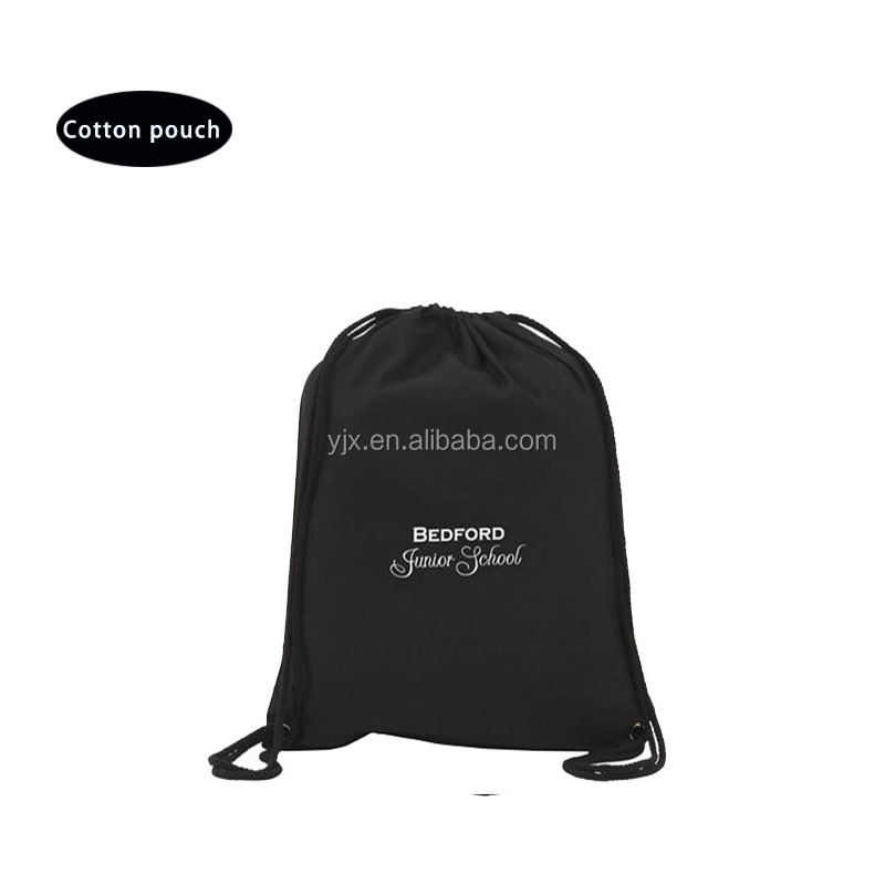 Plastic Material and cosmetics cotton Industrial Use drawstring bags