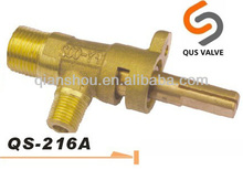 QS 216A gas stove /oven valve/single nozzle brass valve