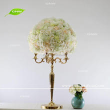 GNW Cream Color Fake Plant Flowers Ball Wedding Centerpieces For Table Decoration