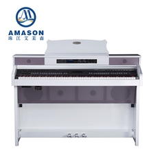 Upright Digital piano New concept series Karaoke 88 keys musical instruments keyboard with speacker MIDI for homeK-5