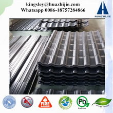 Slope Roof Tile Spanish Weather Resistance ASA Coated Plastic Synthetic Roof Tile