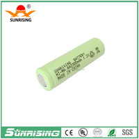 Sunrising nimh aa 2300mah rechargeable battery 1.2v