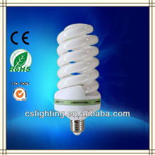 Full spiral 17mm 60w 5.5T dia83mm e27 cfl lamp parts
