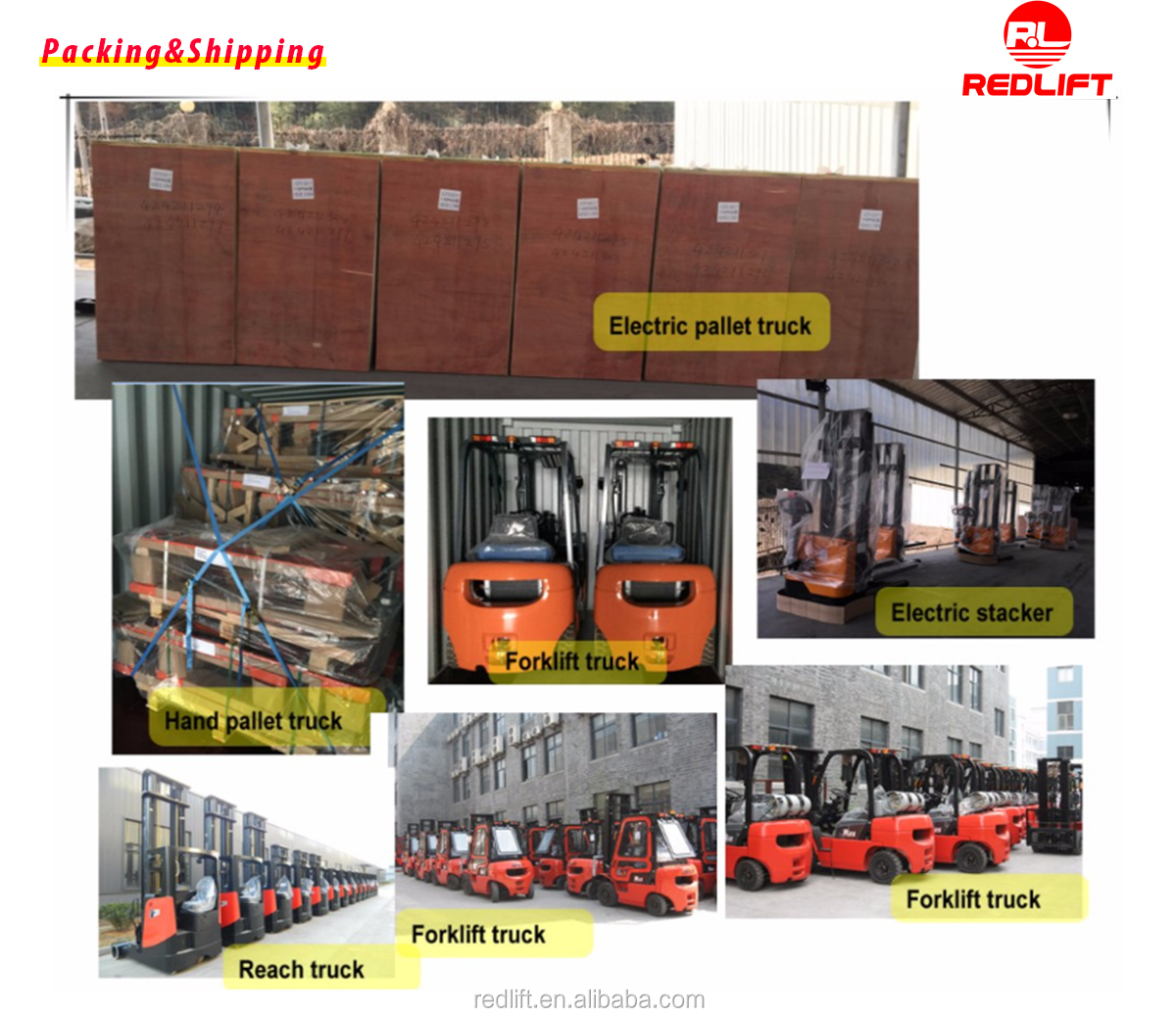 Electric four-wheel lithium battery forklift CPD15L1/CPD20L1 with good quality