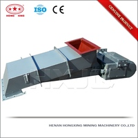 Light weight stone electromechanical vibrator feeders