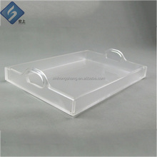 Manufacture serveing acrylic tray with insert