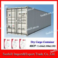 New 40ft ISO Dry Shipping Container