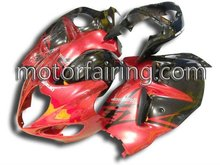 For Suzuki hayabusa fairing kit/bodywork Kits GSX R1300 motorcycle fairings GSXR1300 97-07 red&black