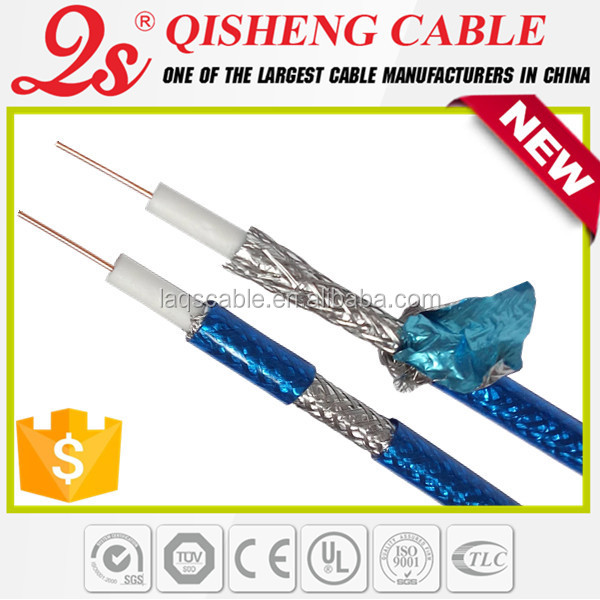 CATV CCTV cable factory quality meet price RG11 RG8 RG7 RG6 RG59+2C premade bnc cable