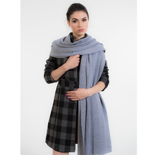 New design women big size comfortable thick cashmere knitted scarf