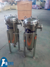 stainless steel bag type bag filter, plastic bag filter housing for sale
