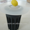 Wholesales silicone cup lid,silicone cup cover,lemon shaped cup lid