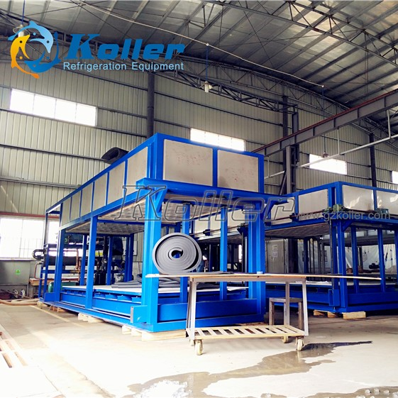Energy and Labor Saving DK100 10 tons/day Ice Block Machine for Ice Factory