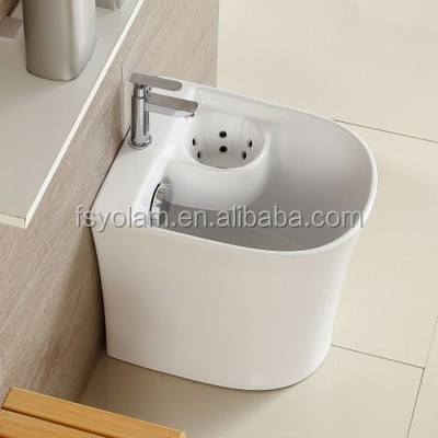 YW3010B Ceramic Mop Tub Bathroom Mop bucket