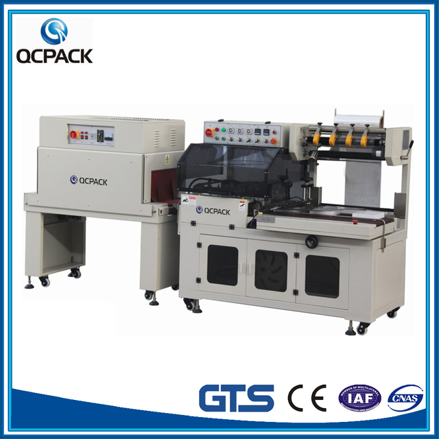 Magazine Book Printings Thermal Shrink Heat Packing Machine For Small Size Products