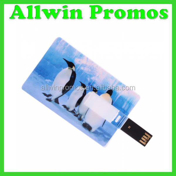 Customized 1GB Business Card Pen Drive