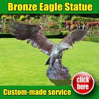 High Quality Bronze Eagle Statues wholeSale with Low Price